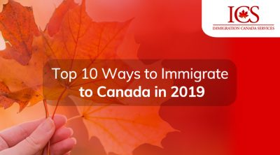 immigrate to Canada in 2019